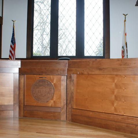 Belvedere Council Chambers