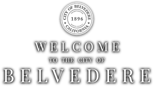 Welcome to the city of Belvedere