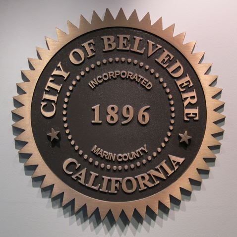 Seal of the City of Belvedere