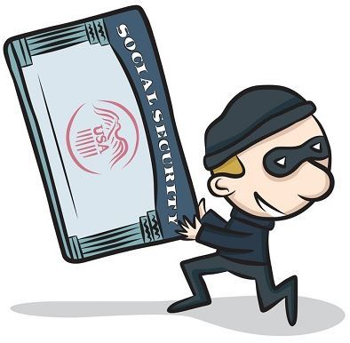 Identity Theft clipart