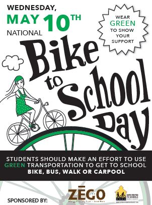 Bike to School Day flyer