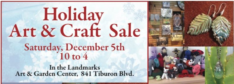 Landmarks Society Annual Holiday Craft Sale Flyer