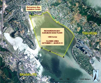 Richardson Bay Closure Area