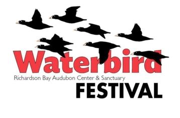 Richardson Bay Audubon Center Waterbird Festival logo
