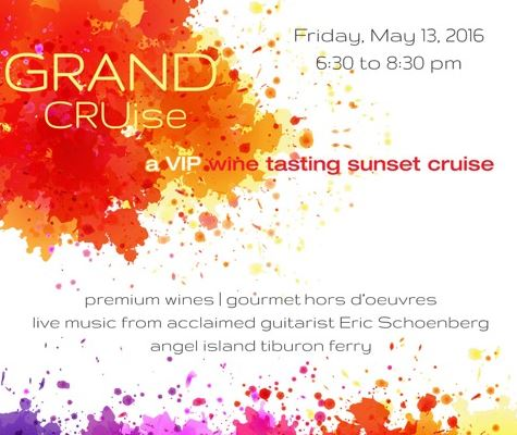 Tiburon Wine Grand Cruise Flyer