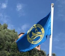 City of Belvedere Flag