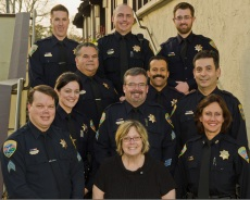 City of Belvedere Police Staff