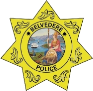 Belvedere Police Department Shield